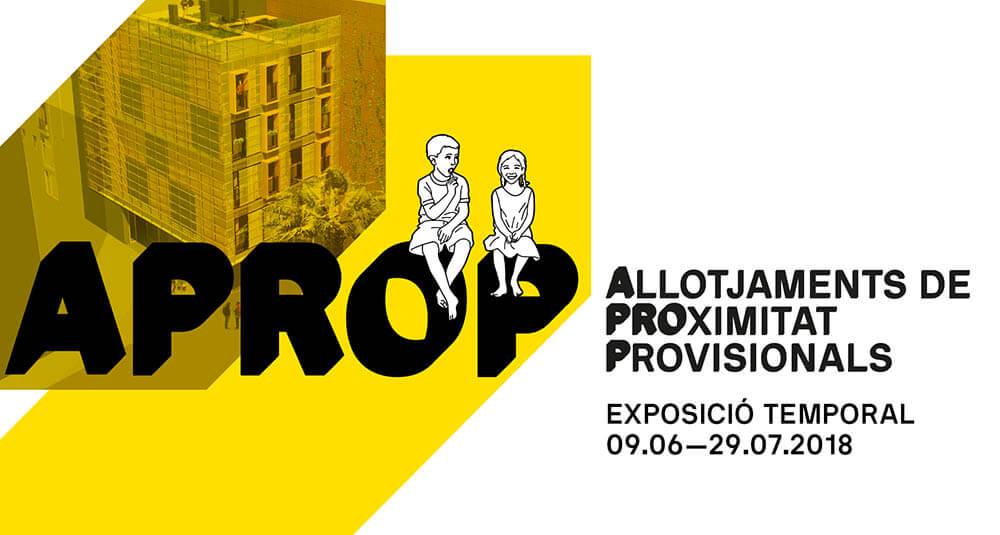 VISITA DE PROFESSORS I ALUMNES A L'EXPOSICIÓ APROP